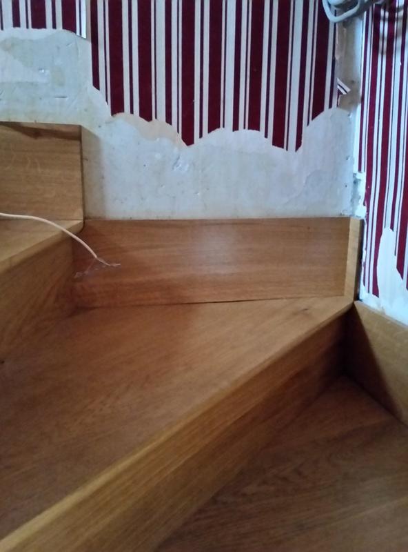 restauration des marche d'un escalier 20161112