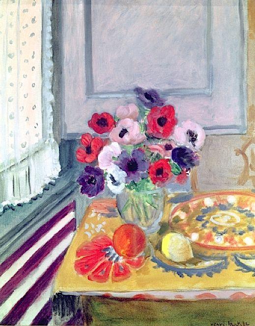 16 - Les Anémones - Matisse Anemon10
