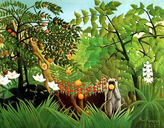 19 - Paysage exotique - Douanier Rousseau Rousse10