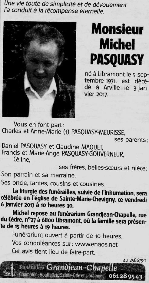 Michel Pasquasy ... 116