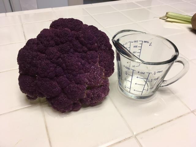 Here's my purple cauliflower. Caulif10