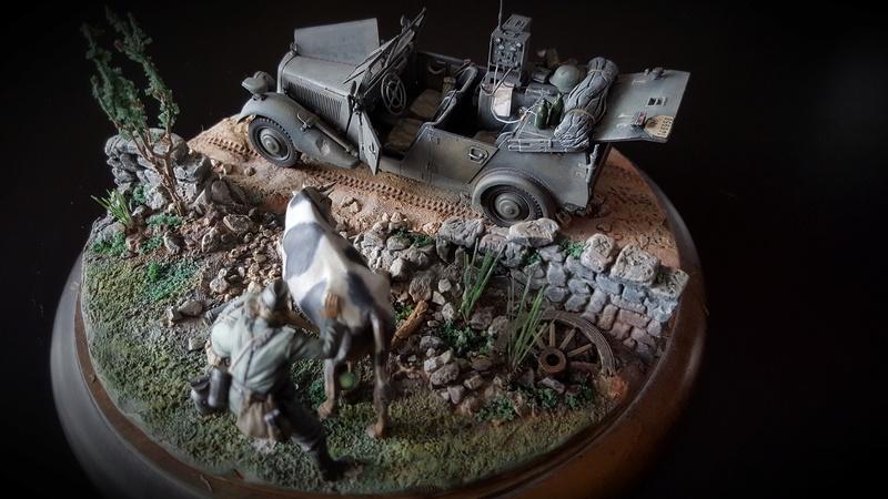 petit diorama masterbox 1/35 20161240
