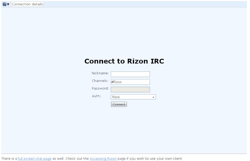 Guidë për IRC (si të komunikoni me ne)  Screen31