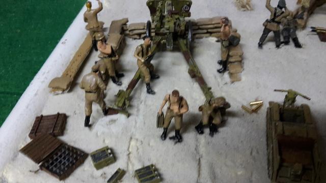 Batterie mixte : obusier FH18 et PAK40  Afrika corps 1942 au 1/72 03-02_12