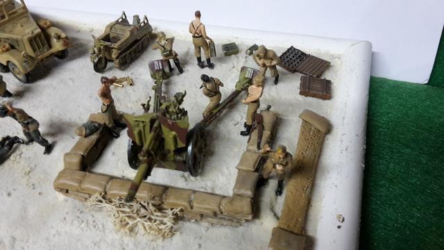 Batterie mixte : obusier FH18 et PAK40  Afrika corps 1942 au 1/72 03-02_13