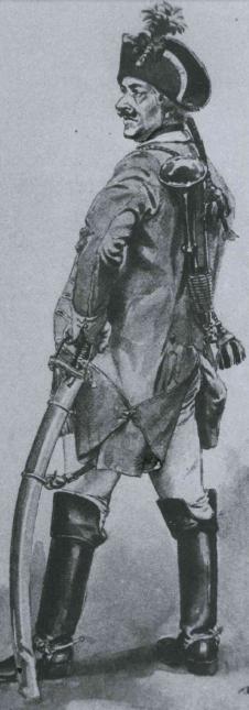 sabre d'officier de cavalerie légère autrichien?? Trompe10