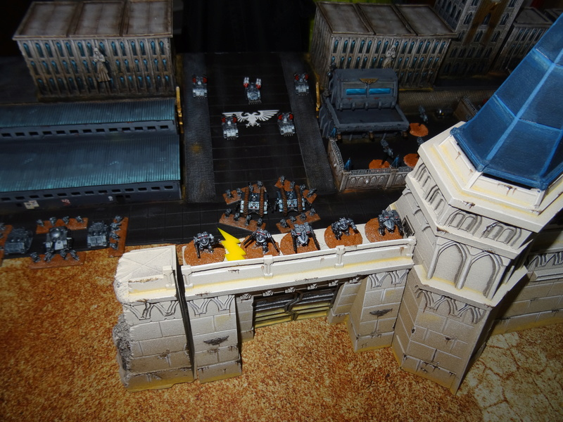 [30k] - Siège - Raven Guard vs Alpha Legion Dsc03720