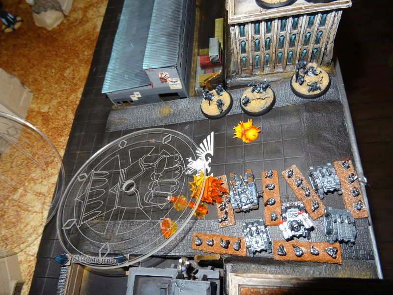 [30k] - Siège - Raven Guard vs Alpha Legion Dsc03747