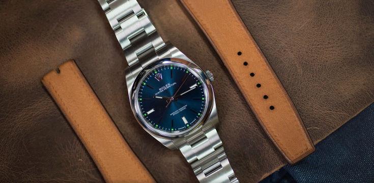 Cadran bleu -> quel bracelet cuir ? Captur11