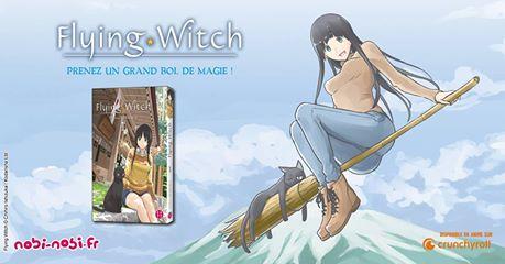 Doki-Doki Flying Witch de Chihiro Ishizuka Flying10