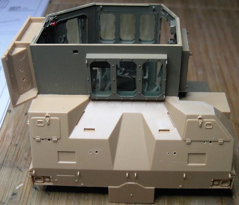 D9R with Slat Armor - 1:35 von Meng Pict5417