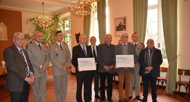 Plus de 3000€ pour les blessées de l'armée de terre 20170210