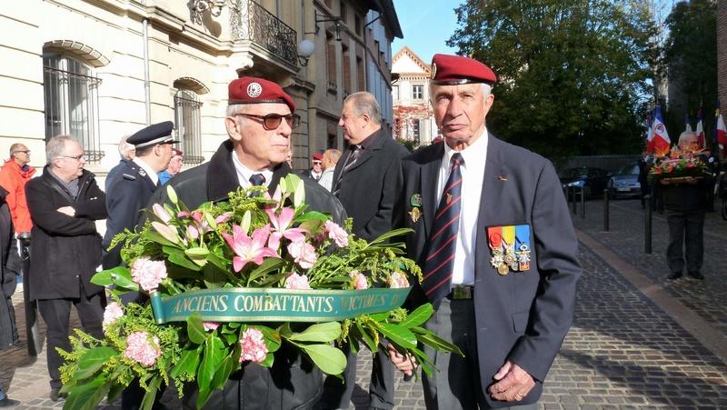 cérémonie consacrée à cet événement le dimanche 4 décembre à Saint Sulpice La Pointe(81) ou était basé le G.I.du 9ème R.C.P. P1080714