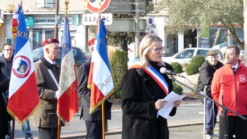 cérémonie consacrée à cet événement le dimanche 4 décembre à Saint Sulpice La Pointe(81) ou était basé le G.I.du 9ème R.C.P. P1080729