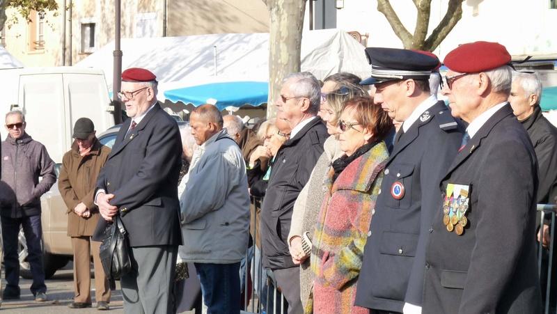 cérémonie consacrée à cet événement le dimanche 4 décembre à Saint Sulpice La Pointe(81) ou était basé le G.I.du 9ème R.C.P. P1080730