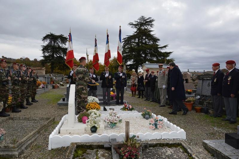 Le 1er R.C.P. rend hommage à un de leur chef de corps prestigieux Tylych10