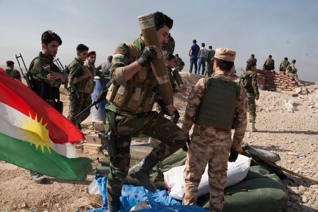 Badr militia jacket  Mosul-10