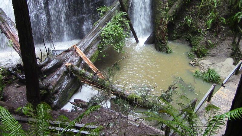 Russian Gulch Water Fall Img_0812
