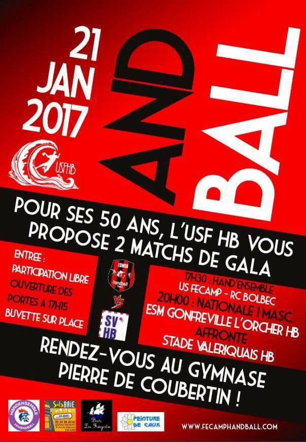 Rencontre amical N1 à Fécamp le 21 janvier  Affich11