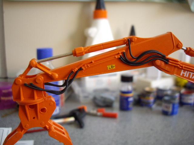Hitachi Doppel-Arm-Arbeitsmaschine, Hasegawa 1:35 03410