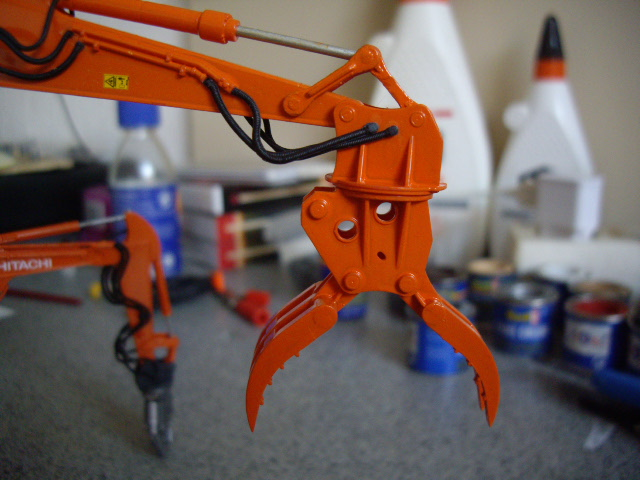 Hitachi Doppel-Arm-Arbeitsmaschine, Hasegawa 1:35 03910