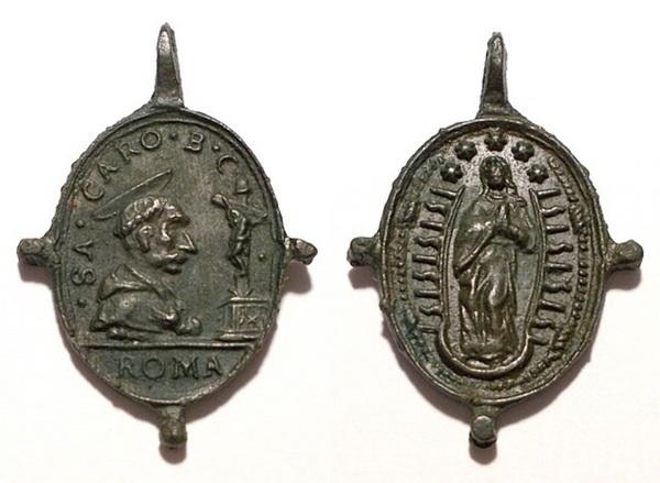 Las  MEDALLAS de San CARLOS BORROMEO. SIGLOS XVI- XVII- XVIII. Apuntes iconográficos. Erix_210