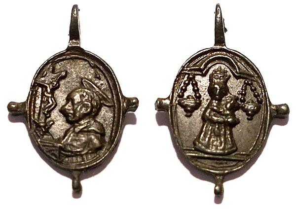 Las  MEDALLAS de San CARLOS BORROMEO. SIGLOS XVI- XVII- XVIII. Apuntes iconográficos. Eryx_210