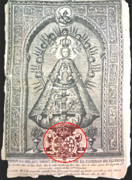 Medalla calada de la Virgen de la Caridad de Illescas (Toledo) Illesc11
