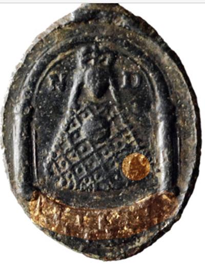 Medalla de San Amable / Relicario de Billion s. XVIII Liesse10