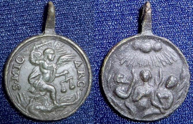 miguel - San Miguel Arcangel / Almas del Purgatorio, S. XVIII Miguel10