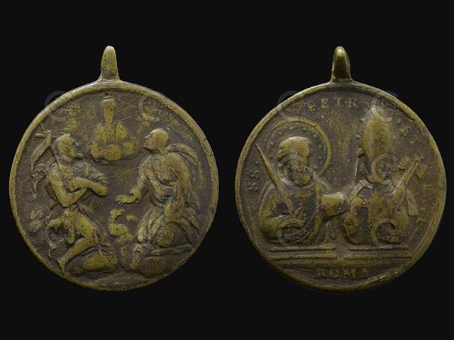 PS - Medalla 2 Bajo Dios Hijo SS juanes Bautista y Evangelista / SS Pedro y Pablo s.XVIII Ss_jua10