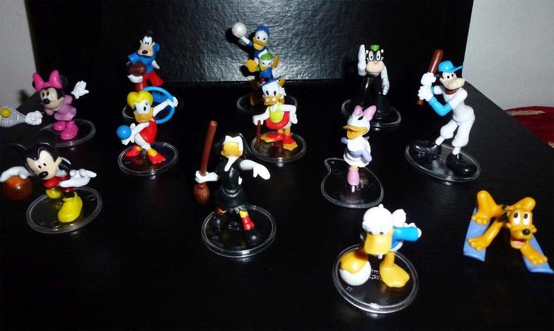 Personaggi Disney Sport - Collezione Conad 2014 Person10