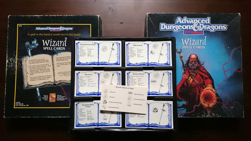 Advanced Dungeons & Dragons - Wizard Spell Cards Wizard10