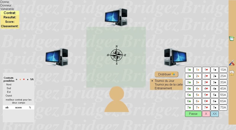 Tutoriel pour utiliser Wbridge5 sur PC ou sur Internet  Jeu10