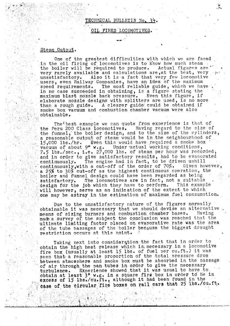 Laidlaw Drew Technical Bulletin No. 34 on oil firing - bmp images Photo012