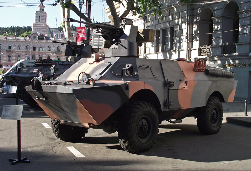 Old soviet vehicles with modern/unusual upgrades. Brdm-g10