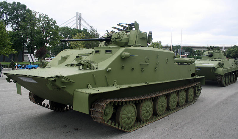 Old soviet vehicles with modern/unusual upgrades. Serbia10