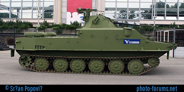 Old soviet vehicles with modern/unusual upgrades. Serbia11