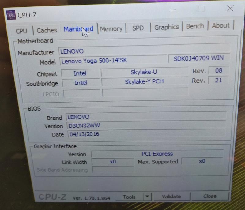 (Résolu)-mac os x sur Lenovo Yoga 500 i5 skylake Graphic Intel HD520 et nVidia 920M une mémoire samsung DDR3 8go - Page 3 Modeel11