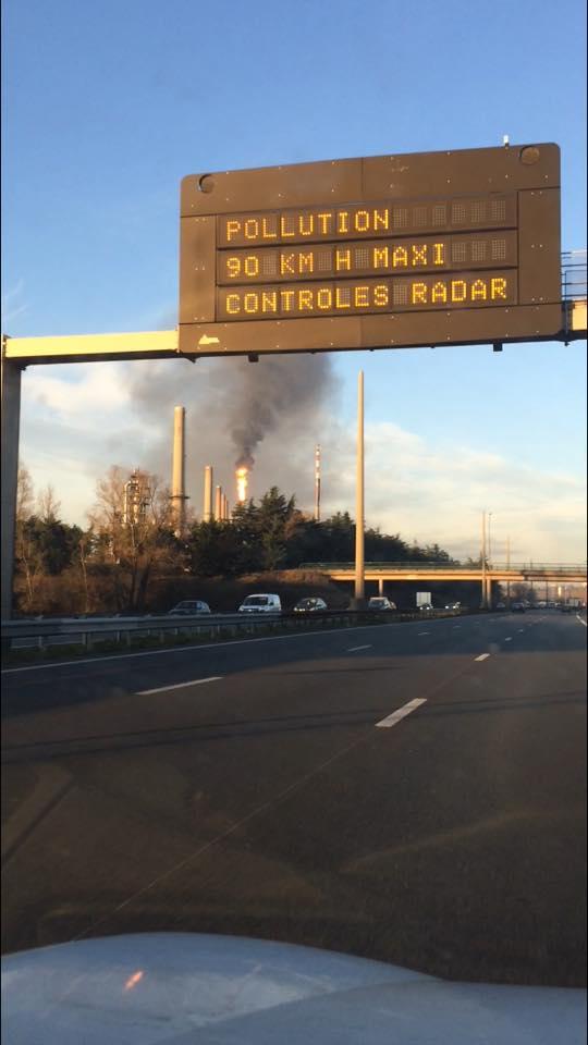 Pollution : circulation alternée mardi 6 décembre 2016. Dygaza10