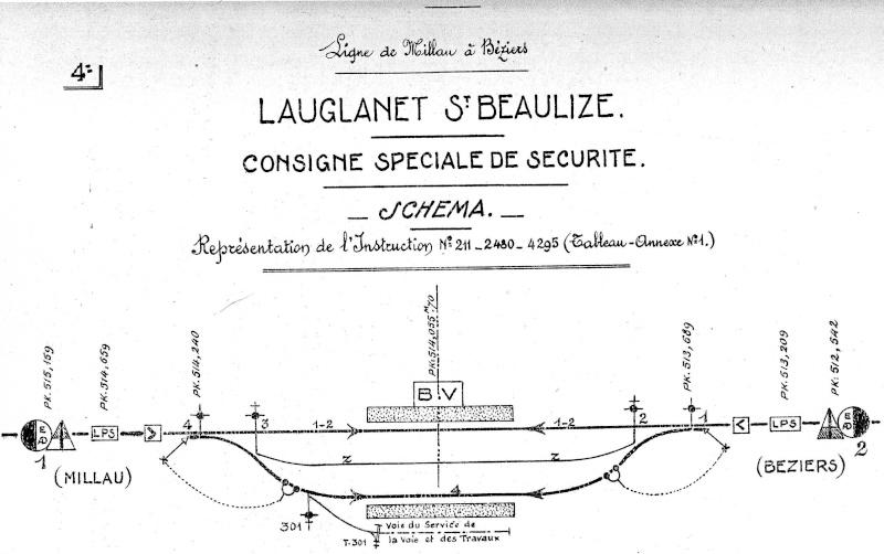 Pk 514,1 : Gare de Lauglanet - Sainte Beaulise (12) - 1937 Laugla10