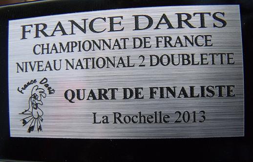 France Darts,le Championnat de France de fléchettes de Gilouuuu Fleche26