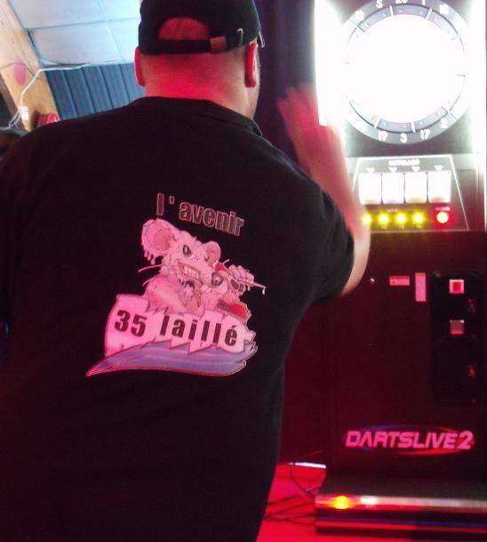 France Darts,le Championnat de France de fléchettes de Gilouuuu Polo4310