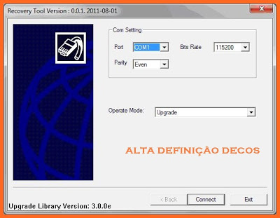 Recovery completo do PHOENIX HD 110