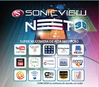 Novos receptores SonicView Net_3d10