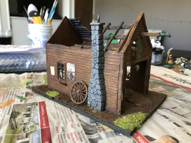 close - Close ups of my Mordheim buildings - part 1 Mord_b10