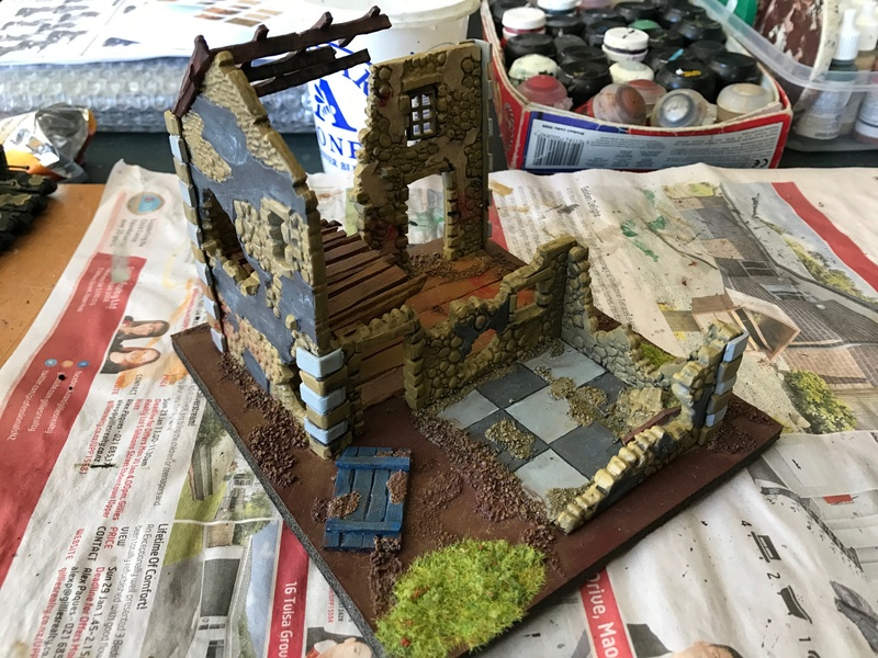 close - Close ups of my Mordheim buildings - part 1 Mord_t10