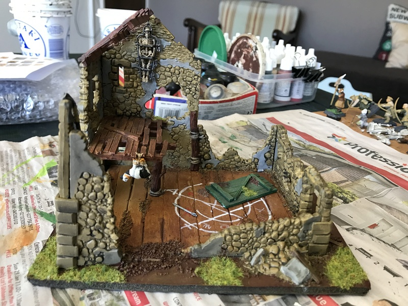 close - Close ups of my Mordheim buildings - part 1 Mord_w10