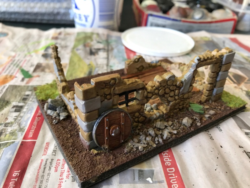 close - Close ups of my Mordheim buildings - part 1 Mord_w11