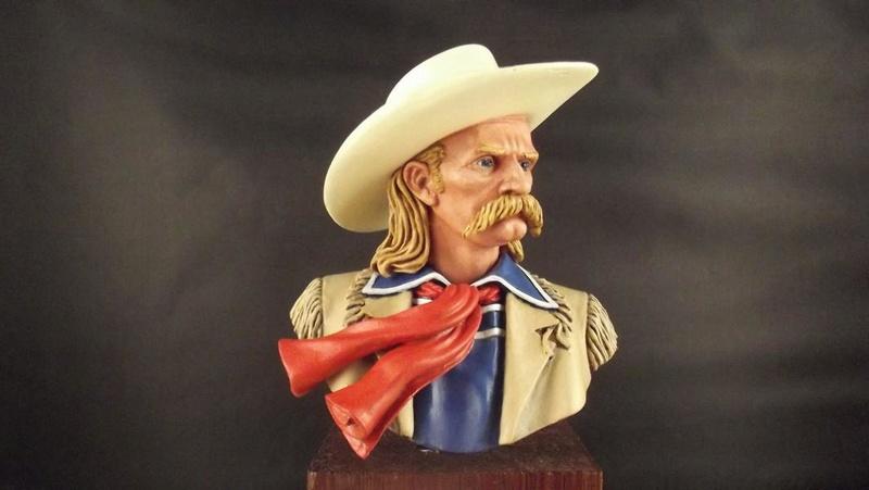 Büste G.A. Custer, ANDREA 1/8 K800_d44